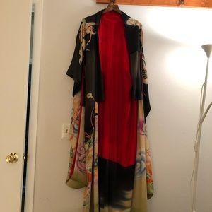 Vintage Japanese kimono robe